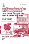 LAW1106 (LAW4062) (LAW2032) 63130 ประวัติศาสตร์กฎหมายไทยและระบบกฎหมายหลัก